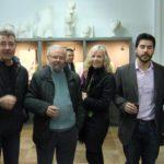 CREATIVOS. Exposición para inaugurar un espacio expositivo y artístico en Jaén en la Academia de Francisco Carrillo Rodríguez. Jaén, Abril de 2014.